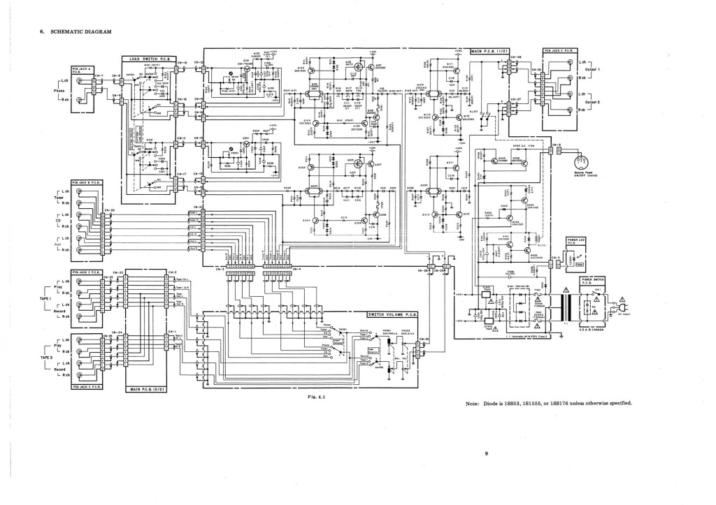 Beauty in simplicity best describes the Nakamichi CA-5A circuit topology