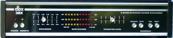 The Original DBX 3BX Signal Processing Unit